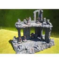 Set de ruinas góticas